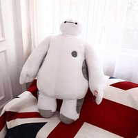 Wholesale Movie Figure cm inch Big Hero Baymax Robot Hands Can t Moveable Stuffed Plush Animals Toys Kids Christmas Gift Lovely Toy Dolls