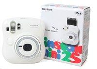 Wholesale 100 Brand New Fujifilm Fuji Original Instax Mini Film Photo Camera White Color Fuji Instant Film Camera