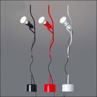 Wholesale Living Room Lamp Drop - Flos Parentesi Pendant lamp Modern Suspension light Creative Lift Hanging Lighting Pulley Drop lights 110V-240V Free shipping