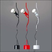 achat en gros de feux de chute modernes-Flos Parentesi Pendant Suspension moderne lumière Ascenseur Creative Suspension d'éclairage Poulie Goutte lumières 110V-240V Livraison gratuite