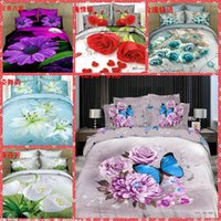 adults quality comforter set - High Quality Home Texiles d Animal Floral Bedding Sets Queen Size Bedclothes Duvet Quilt Cover Sheet Bed Spreads Cotton Cheap Sale