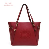 Wholesale 2016 hot sell red zipper fashion bags handbag shoulder bags Totes women pu leather handbag purse yzs168