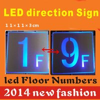 aluminum sign board - LED direction sign LED board led floor Numbers sign aluminum wire drawing surface
