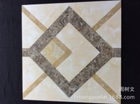 ats room - Foshan ceramic tile factory high end living room parquet Full cast glazed tiles Fanghuadezhuan ATS