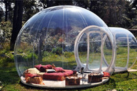 camping tent - outdoor camping bubble tent clear inflatable lawn tent bubble tent