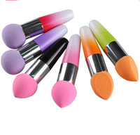Wholesale Makeup Sponge Blender Blending Powder Smooth Puff Flawless Beauty Foundation Sponge foundation Colorful for Choose Free DHL