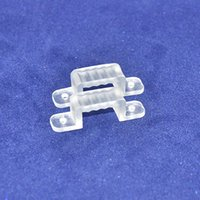 Wholesale 100pcs Wall Mounting Fix Clips Connector for SMD5050 SMD3528 high voltage AC110V AC220V flexible led strip light bulb