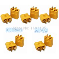 Wholesale High Quality Pair XT XT60 Male Female Bullet Connectors Plugs For RC Car Tuck HeLi Lipo Battery