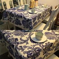 Wholesale 60 Lace Cotton Paris Flower Print Tablecloth Table Cover Tea Cloth Mat Home