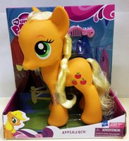 dough - Little PONY Genuine small Ma Baoli my little pony unicorn Peach dough exotic girl doll toy box