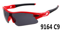 glasses - MOQ summer newest men sport SUN glasses driving sunglasses Bicycle Glass woman Dazzle colour glasses colors A