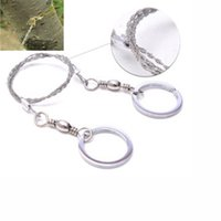 Wholesale 1 Sporting Gifts Steel Wire Saw Scroll Saw Emergency Hiking Camping Hunting Outdoor Survival Tool