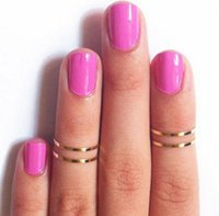 ring size 4 - 500pcs rings size rings Punk Finger rings for Men and Women Jewelry silver and gold color rings WR