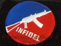 aks tool - The pagan INFIDEL series AKS U double sided Velcro armband Badge