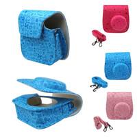 Wholesale Feitong Emboss Cute PU Leather Camera Case Bag For FUJIFILM Instax Mini8 Mini8s Wholesales