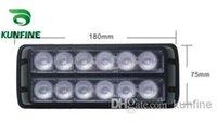 Precio de El tráfico de potencia-LED de la nueva llegada 100% de agua a prueba de luz estroboscópica 12 * 1W LED de alta potencia de luz de tráfico asesores con patrones de destello KF-L3005