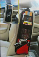 Wholesale QP021 Waterproof fabric car auto vehicle seat side back storage pocket backseat hanging storage bags organizer