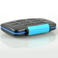Wholesale Hot Camera Accessories MC CF SD Memory Card Storage JJC Holder Anti shock Waterproof Hard Case VC003011