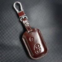 autos byd - FOB leather key case cover for Auto BYD F3 key case shell keyrings key holders wallet bags keychain accessories for BYD F3 cars