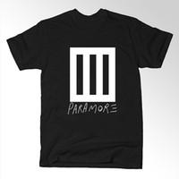 alternative rock band - Bars Punk Rock Music Band Paramore T shirt Men Alternative Casual Short Sleeve T Shirt Top Tees Camisetas Masculinas Cotton