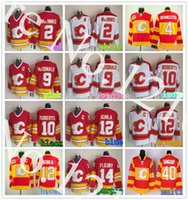 al factory - Factory Outlet Calgary Flames Al Macinnis Jersey CCM Vintage Jay Bouwmeester Throwback jersey Stitched Gary Roberts jerse