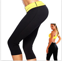 cellulite pants - Hot Sale Super Women Hot Shapers Hot Slimming Capri Pants Leggings Anti cellulite Weight Loss Body Shapers