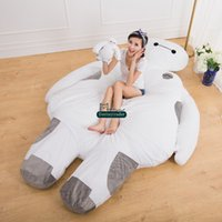 big beanbags - Dorimytrader cm X cm Big Hero Giant Soft Plush Baymax Beanbag Bed Sofa Mattress Carpet Tatami Nice Gift DY60379