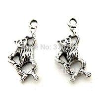 aa monkey - Hot Sale Silver Tone Monkey Charms Pendants x10mm w00182 X Aa