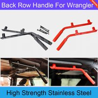Wholesale Car Styling Stainess Steel Back Row Wild Boar Handle For Offroad Wrangler JK