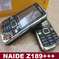 Wholesale New CDMA GSM mobile phone Z189 CDMA GSM GSM mobile phone Russian keyboard Cheap Phone