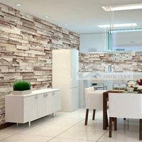 artistic stone - 3D Embossed Artistic Stone Design Wallpaper for Living Room Wallcovering