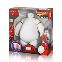 big desk lamp - New Hot Changing Baymax Night Light cm Big Hero Baymax USB LED Night Creative Table Light Desk Lamp For Children s Toys Gift SET