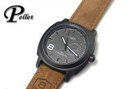product - Promotional products Curren Unisex Stylish Quartz Analog Watch Men Leather Strap Curren Watches Men Clock relogios masculino