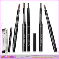 Wholesale 2016 Newest High Quality eyebrow pencil waterproof brown eye brow Pencils color Brow Pen to makeup brows