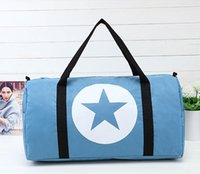 army gym bag - 2016 Korean large capacity women s handbags waterproof Nylon Luggage bag outdoor travel bag gym sport bag colors cross body bag