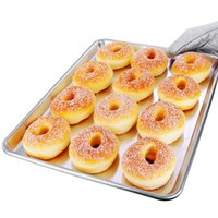 aluminum pizza plate - Aluminum Healthy quot Baking Dish Biscuit Cake Pans Baking Sheet Plate Cookie Sheet Pizza Pan Cooking Tools order lt no trac