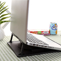 adjustable angle notebook cooling stand - NEW Black Ergonomic Degree Rotating Adjustable Angle Laptop Cooling Stand Holder Mount Portable Notebook Pad Cooler