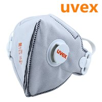 activated carbon - 15 Uvex Masks Activated Carbon Breath Valve Protective Anti virus Anti fog and haze PM2 Dust Masks