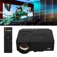 Wholesale US Stock VS New HD LED Projector Mini Home Cinema Theater TV PC VGA USB SD AV HDMI Portable Projectors