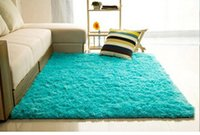 floor mat - New Arrival Large Size cm cm Long Plush Shaggy Thicken Soft Carpet Area Rugs Non skid Water Absorption Floor Mats Household Supplies