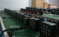 Wholesale Factory Directly Sale W RGBW in1 LED Slim Par Light LED Flat Par For Stage Lighting Effect