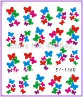 bee nail art - 50 Nail Art Water Transfers Stickers Nail Decals Stickers Water Decal Butterfly Bee Dragon Fly Bird