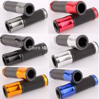 Wholesale Universal Motorcycle handlebar grip grips handle bar girp premium handlebar grips CNC MM colors for option A3