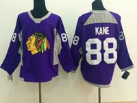 name brand apparel - 2014 New Blackhawks Patrick Kane Purple Ice Hockey Jerseys Name Number Sewn On Brand Hockey Wears High Quality Athletic Outdoor Apparel