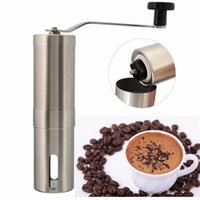 Wholesale high quality and durable Stainless Steel Hand Manual Coffee Bean Grinder Mill Kitchen Grinding Tool Home Coffee