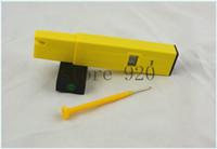Wholesale 60pcs Digital Mini Digital LCD PH Meter Tester Pen Aquarium Pool laboratory Yellow with high quality