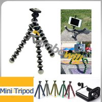 camera grip - Mini CM Digital Camera Stand Flexible Leg Tripod Grip Octopus Bubble Pod Monopod Mobile Phone Holder Clip mm Colors