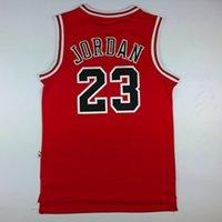 basketball jersey uniform - Michael Jordan Jersey Chicago Hardwood Classics Basketball Jerseys Red Embroidery Sport Uniform