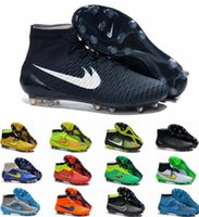 Wholesale 2015 New Magista Obra FG Men Soccer Shoes Cleats Cheap High Quality Breathable Soccer Cleats Eur