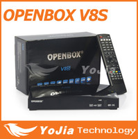 Wholesale 100pcs Yojia Original Openbox V8S p Full HD Satellite Receiver Openbox V8S S V8 S V8 Support WEBTV Biss Key x USB Factory